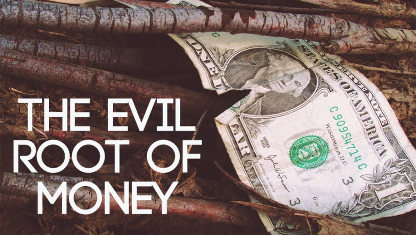 Money Is The Root Of All Evil Png: The Root Of All Evil